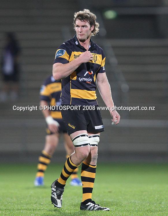 Jason Eaton.<br /> Air NZ Cup, Otago v Taranaki, Carisbrook, Dunedin, Friday 19 September 2008. Photo: Rob Jefferies/PHOTOSPORT