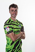 Forest Green Rovers James Morton(15) during the official team photocall for Forest Green Rovers at the New Lawn, Forest Green, United Kingdom on 29 July 2019.