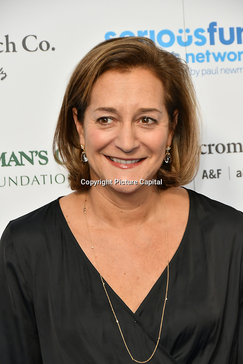Fran Horowitz Arrivers at Special gala in honour of SeriousFun Children's Network, the charity  started by actor and philanthropist Paul Newman at The Roundhouse, on 6 November 2018, London, UK.