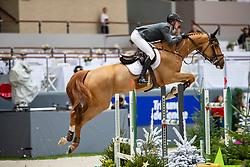 SMITH Spencer (USA), Diablo <br /> Genf - CHI Rolex Grand Slam 2018<br /> Coupe de Geneve<br /> 2. Qualifikation zum Rolex Grand Prix<br /> © www.sportfotos-lafrentz.de/Stefan Lafrentz