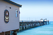 Fisherman's Restaurant and San Clemente Pier
