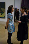 DR. CORINNE FLICK; MERCEDES STOUTZKER, Francis Bacon opening private view and dinner. Tate Britain. 8 September 2008 *** Local Caption *** -DO NOT ARCHIVE-© Copyright Photograph by Dafydd Jones. 248 Clapham Rd. London SW9 0PZ. Tel 0207 820 0771. www.dafjones.com.