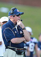 Samford head coach Pat Sullivan watches his team during the game against  Appalachian State at Seibert Stadium in Homewood, Ala., Saturday, Oct 13, 2012. (Marvin Gentry)