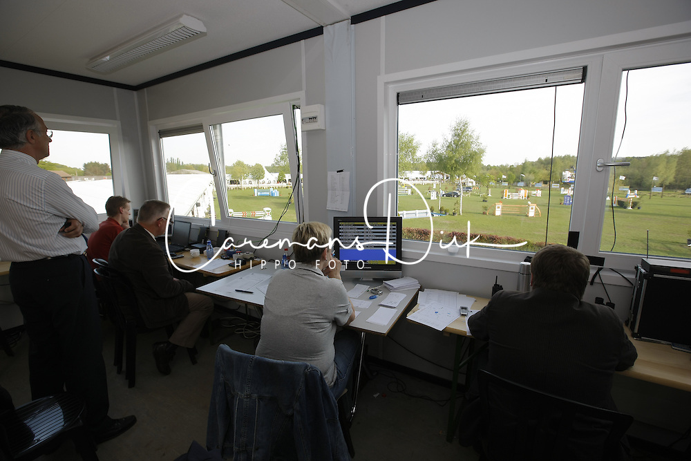 Presscenter<br /> CSIO Lummen 2008<br /> Photo © Hippo Foto