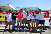 Real Madrid fans during the AON Tour 2017 match between Real Madrid and Manchester United at the Levi's Stadium, Santa Clara, USA on 23 July 2017.