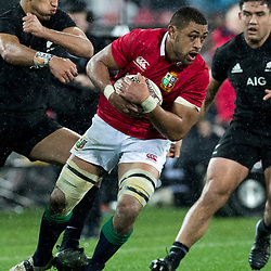 Taulupe Faletau during game 9 of the British and Irish Lions 2017 Tour of New Zealand, the second Test match between  The All Blacks and British and Irish Lions, Westpac Stadium, Wellington, Saturday 1st July 2017<br /> (Photo by Kevin Booth Steve Haag Sports)<br /> <br /> Images for social media must have consent from Steve Haag