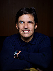 CARDIFF, WALES - Thursday, March 16, 2017: Wales' manager Chris Coleman poses for a portrait after a press conference at the Vale Resort to announce his squad for the forthcoming 2018 FIFA World Cup Qualifying Group D match against Republic of Ireland. (Pic by David Rawcliffe/Propaganda)