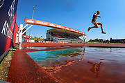 Zak SEDDON competes in the Men's 3000m Steeplechase and went on to win during the Muller British Athletics Championships at Alexander Stadium, Birmingham, United Kingdom on 25 August 2019.