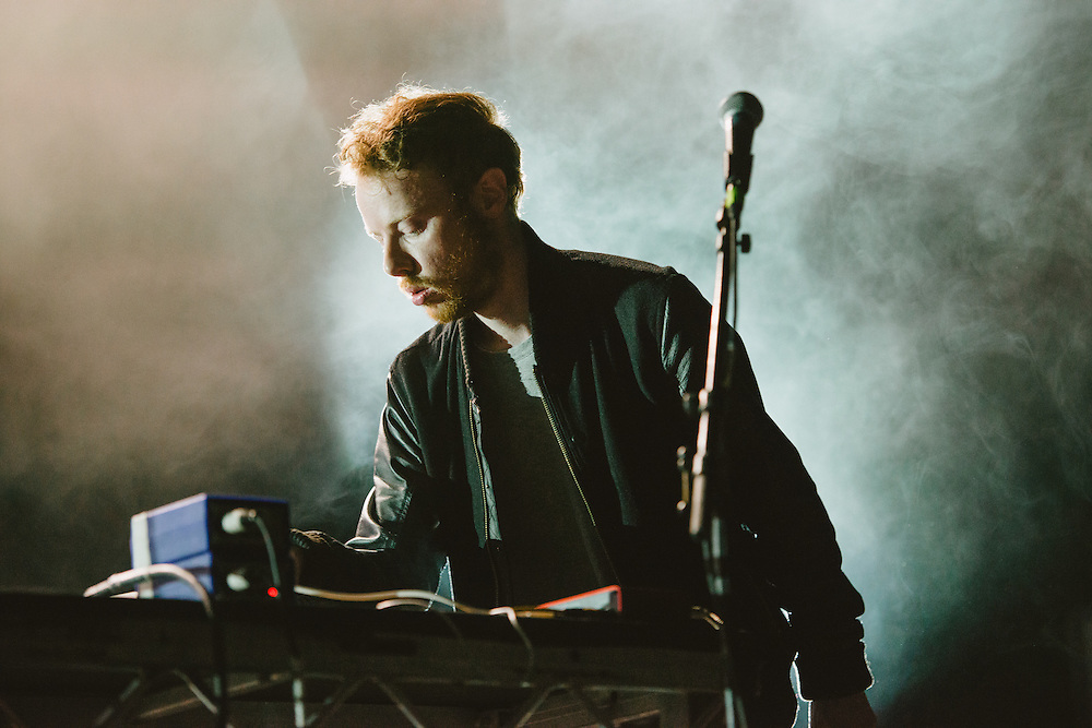 Photos of Forest Swords performing live at Atlantic Studios in Ásbrú for ATP Iceland 2014 in Keflavík, Iceland. July 12, 2014. Copyright © 2014 Matthew Eisman. All Rights Reserved
