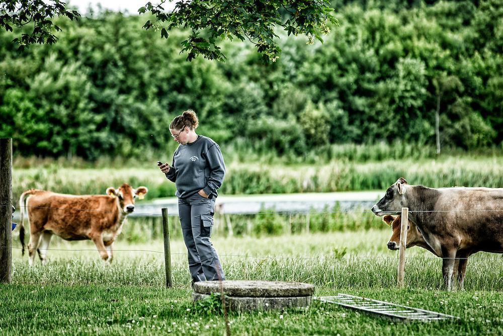 Line Vanggaard Pedersen - en snak om at etablere sig som ung landmand, dit landbrug og planerne med det, dit politiske arbejde og din medvirken i De unge landmænd på TV