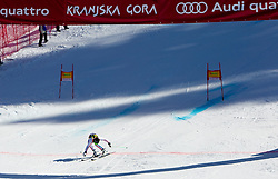 Second plced Alexis Pinturault of France during 2nd Rund of Men's Giant Slalom of FIS Ski World Cup Alpine Kranjska Gora, on March 5, 2011 in Vitranc/Podkoren, Kranjska Gora, Slovenia.  (Photo By Vid Ponikvar / Sportida.com)
