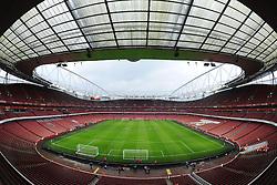 View inside the Emirates Stadium prior to kick off. - Photo mandatory by-line: Alex James/JMP - Mobile: 07966 386802 - 22/11/2014 - Sport - Football - London - Emirates Stadium - Arsenal v Manchester United - Barclays Premier League