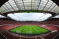 View inside the Emirates Stadium prior to kick off. - Photo mandatory by-line: Alex James/JMP - Mobile: 07966 386802 - 22/11/2014 - Sport - Football - London - Emirates Stadium - Arsenal v Manchester United - Barclays Premier League