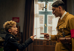 RELEASE DATE: October 18, 2019 TITLE: Jojo Rabbit STUDIO: Twentieth Century Fox DIRECTOR: Taika Waititi PLOT: A young boy in Hitler's army finds out his mother is hiding a Jewish girl in their home. STARRING: TAIKA WAITITI as Adolf Hitler, ROMAN GRIFFIN DAVIS as Jojo Betzler (Credit Image: © Twentieth Century Fox/Entertainment Pictures/ZUMAPRESS.com)