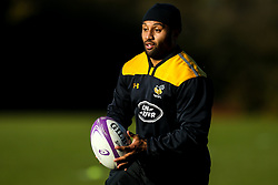 Lima Sopoaga of Wasps during training ahead of the European Challenge Cup fixture against SU Agen - Mandatory by-line: Robbie Stephenson/JMP - 18/11/2019 - RUGBY - Broadstreet Rugby Football Club - Coventry , Warwickshire - Wasps Training Session