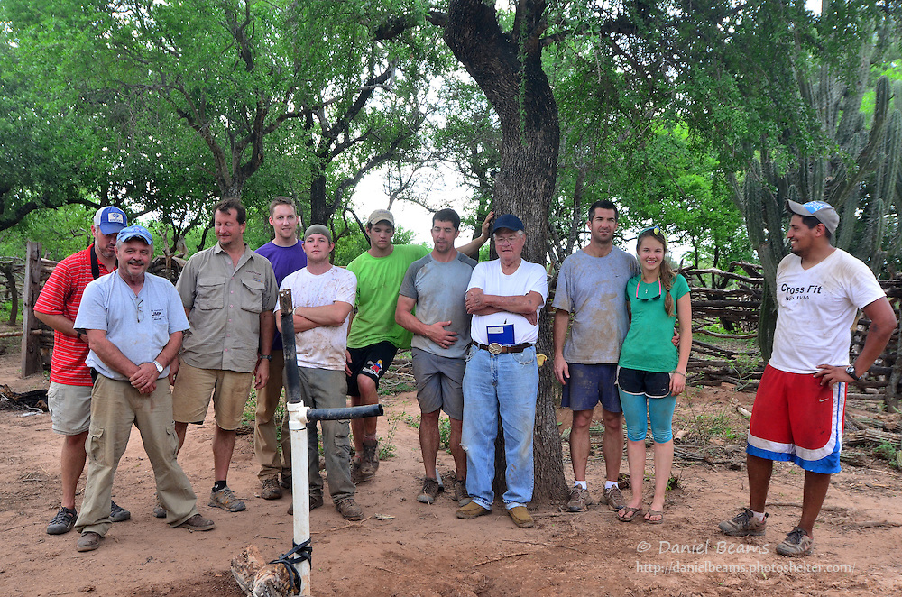 Water well drilling mission trip to Isosog, Charagua, Santa Cruz, Bolivia