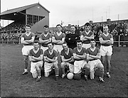 Cork Hibs Vs Jacobs. .1961..11.03.1961..03.11.1961..11th March 1961..The FAI Cup second round saw cork Hibernians pitted against  Jacobs works team at Rutland Avenue, Dublin...Image shows the Cork Hibernians Team.