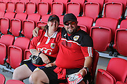 Bristol City Fans before the EFL Sky Bet Championship match between Bristol City and Derby County at Ashton Gate, Bristol, England on 17 September 2016. Photo by Gary Learmonth.