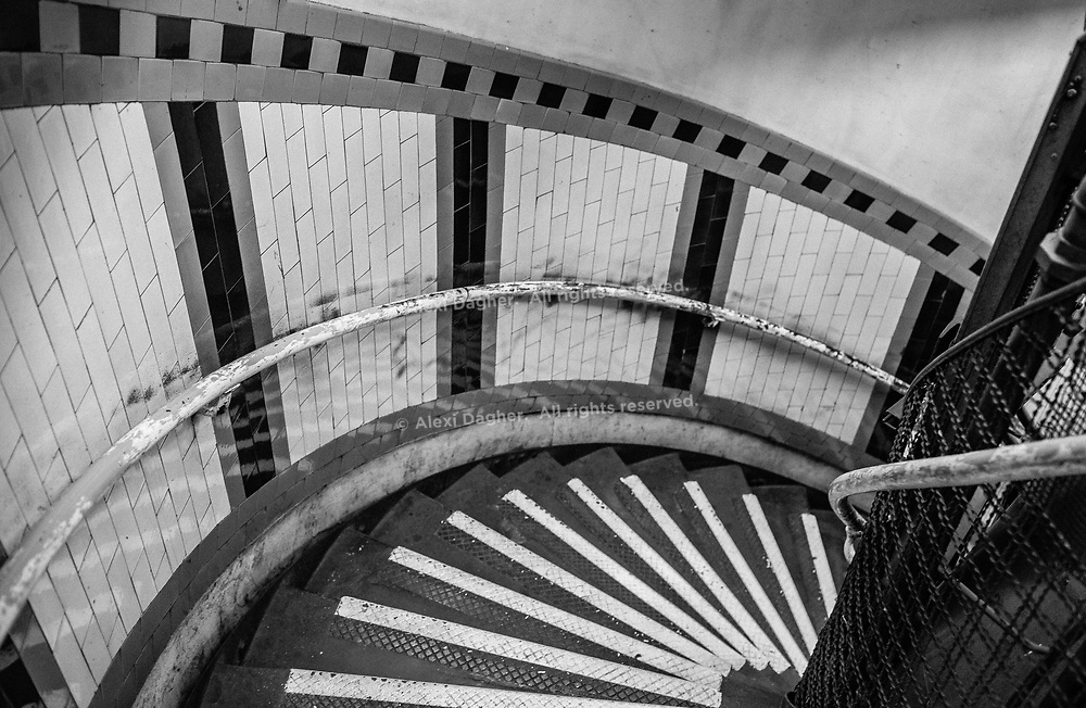 Russel Square Spiral Staircase - London, England, 2017