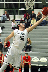 25 November 2014:  Mike Marietti during an NCAA mens division 3 CCIW basketball game between the Milwaukee School of Engineering Raiders and the Illinois Wesleyan Titans in Shirk Center, Bloomington IL