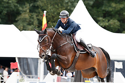 Thomas Gilles, BEL, Conaro<br /> De Kraal International -Zandhoven 2018<br /> © Hippo Foto - Dirk Caremans<br /> 26/08/2018