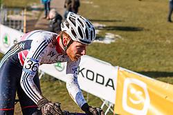 Ben Sumner (GBR), Men Under 23, Cyclo-cross World Championships Tabor, Czech Republic, 1 February 2015, Photo by Pim Nijland / PelotonPhotos.com