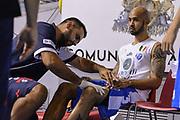 DESCRIZIONE : 5° International Tournament City of Cagliari Dinamo Banco di Sardegna Sassari - Limoges CSP<br /> GIOCATORE : David Logan<br /> CATEGORIA : Ritratto Before Pregame<br /> SQUADRA : Dinamo Banco di Sardegna Sassari<br /> EVENTO : 5° International Tournament City of Cagliari<br /> GARA : Dinamo Banco di Sardegna Sassari - Limoges CSP Torneo Città di Cagliari<br /> DATA : 18/09/2015<br /> SPORT : Pallacanestro <br /> AUTORE : Agenzia Ciamillo-Castoria/L.Canu