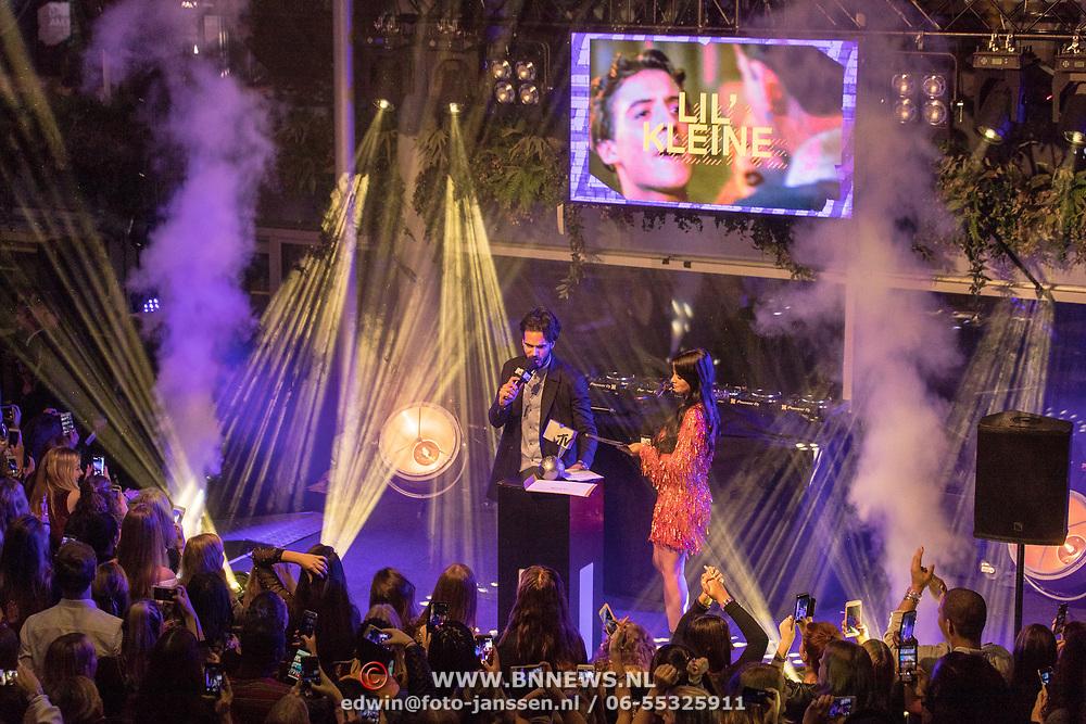 NLD/Amsterdam/20171106 - MTV Pre party 2017, Kay Nambiar en Monica Geuze
