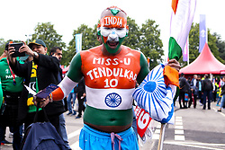 India fans ahead of their sides Cricket World Cup fixture against Pakistan at Old Trafford - Mandatory by-line: Robbie Stephenson/JMP - 16/06/2019 - CRICKET- Old Trafford - Manchester, England - India v Pakistan - ICC Cricket World Cup 2019 group stage