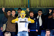 Bury fans dressed as Homer Simpson during the EFL Sky Bet League 1 match between Southend United and Bury at Roots Hall, Southend, England on 30 April 2017. Photo by Matthew Redman.