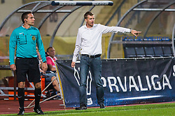 Simon Rozman, head coach of NK Domzale during football match between NK Domzale and NK Aluminij in 8th Round of Prva liga Telekom Slovenije 2016/17, on September 9, 2016 in Sportni Park, Domzale, Slovenia. Photo by Ziga Zupan / Sportida