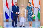 Staatsbezoek  Koning en Koningin aan India - Dag 1
