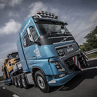 Pictures show CV Driver Editor Matthew Eisenegger test driving the new Volvo FH16-750.<br /> Pictures by Paul Currie<br /> 07796 146931<br /> www.paulcurriephotos.com