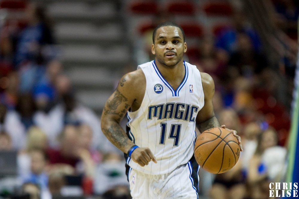 BASKETBALL - NBA - ORLANDO (USA) - 01/11/2008 -  .ORLANDO MAGIC V SACRAMENTO KINGS  (121-103)  JAMEER NELSON / ORLANDO MAGIC