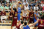 DESCRIZIONE : Trento Torneo Internazionale Maschile Trentino Cup Italia Portogallo Italy Portugal<br /> GIOCATORE : Matteo Soragna<br /> SQUADRA : Italia Italy<br /> EVENTO : Raduno Collegiale Nazionale Maschile <br /> GARA : Italia Portogallo Italy Portugal<br /> DATA : 27/07/2009 <br /> CATEGORIA : tiro <br /> SPORT : Pallacanestro <br /> AUTORE : Agenzia Ciamillo-Castoria/G.Ciamillo