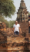 EXCLUSIVE<br /> Leonardo DiCaprio opts for a touristy fanny pack while visiting Ayutthaya Historical Park<br /> <br /> Phra Nakhon Si Ayutthaya, Thailand - Leonardo DiCaprio opts for a touristy fanny pack while visiting Ayutthaya Historical Park which showcases the ancient city of Ayutthaya. Leonardo was seen visiting the are with a few friends looking casual in sunglasses, a white v neck, dark shorts, and a black fanny pack<br /> ©Mauro Romano/Exclusivepix Media