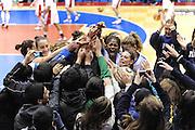 Cile 30/07/2011<br /> Campionato Mondiale Femminile U19<br /> Italia-Cina<br /> nella foto: Team Nazionale<br /> foto ciamillo-castoria