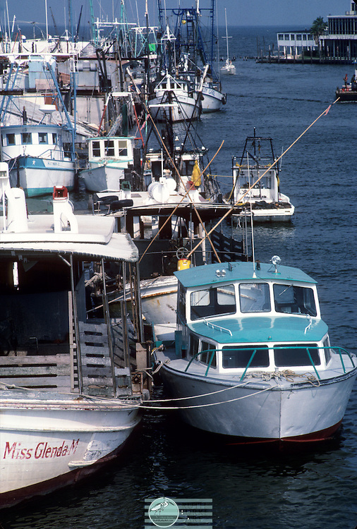 1980 Miss Glenda Docked Shrimp boats