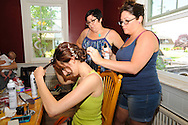 GILBERTSVILLE, PA - JUNE 1, 2013: Ashley & Michael's wedding June 1, 2013 in Gilbertsville, Pennsylvania. (Photo by William Thomas Cain/Cain Images' Love Wedding Photos) http://www.loveweddingphotos.com