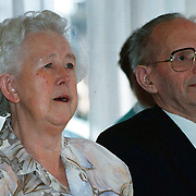 KO voor Mw. Baltus - van der Veer, met haar man