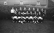 Irish Rugby Football Union, Ireland v Scotland, Five Nations, Landsdowne Road, Dublin, Ireland, Saturday 22nd February, 1964,.22.2.1964, 22.2.1964,..Referee- A C Luff, Rugby Football Union, ..Score- Ireland 3 - 6 Scotland, ..Scottish Team, ..S Wilson, Wearing number 15 Scottish jersey, Full Back, Oxford University Rugby Football Club, Oxford, England,..R H Thomson, Wearing number 11 Scottish jersey, Left Wing, London Scottish Rugby Football Club, Surrey, England, ..I H P Laughland, Wearing number 12 Scottish jersey, Left Centre, London Scottish Rugby Football Club, Surrey, England, ..B C Henderson, Wearing number 13 Scottish jersey, Right Centre, Edinburgh Wanderers Rugby Football Club, Edinburgh, Scotland,..C Elliot, Wearing number 14 Scottish jersey, Right wing, Langholm Rugby Football Club, Dumfriesshire, Scotland, ..D H Chisholm, Wearing number 10 Scottish jersey, Stand Off, Melrose Rugby Football Club, Melrose, Scotland, ..A J Hastie, Wearing number 9 Scottish jersey, Scrum Half, Melrose Rugby Football Club, Melrose, Scotland, ..D M D Rollo, Wearing number 1 Scottish jersey,  Forward, Howe of Fife Rugby Football Club, Fife, Scotland,   ..N S Bruce, Wearing number 2 Scottish jersey,  Forward, London Scottish Rugby Football Club, Surrey, England, ..J B Neill, Wearing number 14 Scottish jersey, Captain of the Scottish team, Forward, Edinburgh Academical Rugby Football Club, Edinburgh, Scotland, ..P C Brown, Wearing number 4 Scottish jersey, Forward, West of Scotland Rugby Football Club, Milngavie, Scotland, ..M J Campbell-Lamberton, Wearing number 5 Scottish jersey, Forward, London Scottish Rugby Football Club, Surrey, England, ..J W Telfer, Wearing number 6 Scottish jersey, Forward, Melrose Rugby Football Club, Melrose, Scotland,..J P Fisher, Wearing number 8 Scottish jersey, Forward, Royal High School Rugby Football Club, Edinburgh, Scotland, ..R J C Glasgow, Wearing number 7 Scottish jersey,  Forward, Dunfermline Rugby Football Club, Fife, Scotland, .