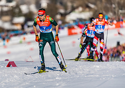 28.02.2019, Seefeld, AUT, FIS Weltmeisterschaften Ski Nordisch, Seefeld 2019, Nordische Kombination, Langlauf, im Bild Terence Weber (GER) // Terence Weber of Germany during the Cross Country Competition of Nordic Combined for the FIS Nordic Ski World Championships 2019. Seefeld, Austria on 2019/02/28. EXPA Pictures © 2019, PhotoCredit: EXPA/ Stefan Adelsberger