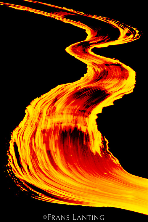 Lava river, Hawaii Volcanoes National Park, Hawaii