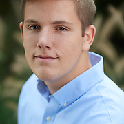 Sewickley, PA - October 14: Jeremy McCoy during his senior portrait session in Sewickley, PA on October 14, 2018. (Photo by Shelley Lipton)