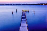 Pier, Noyac Bay, Peconic River, Sag Harbor, NY