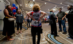 June 20 2017 - Atlanta, Georgia, U.S. -  The election night rally for Georgia Sixth District's Democratic candidate, Jon Ossoff, at the Westin Atlanta Perimter North Hotel.  Ossoff is competing against Republican Karen Handel forthe open House seat in what has become the most expensive Congressional race in history.  A reported 50 million dollars has been spent in aggregate by the two campaigns.(Credit Image: © Brian Cahn via ZUMA Wire)