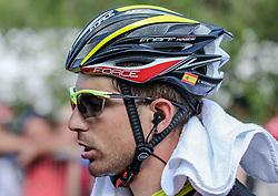 26.05.2017, Piancavallo, ITA, Giro d Italia 2017, 19. Etappe, Innichen (San Candido) nach Piancavallo, im Bild Cristian Rodriguez (ESP, Team Wilier Triestina - Selle Italia) // during the 19 th stage of the 100 th Giro d Italia cycling race from Innichen (San Candido) to Piancavallo, Italy on 2017/05/26. EXPA Pictures © 2017, PhotoCredit: EXPA / Martin Huber