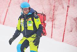 during 1st run of Men's GiantSlalom race of FIS Alpine Ski World Cup 57th Vitranc Cup 2018, on March 3, 2018 in Kranjska Gora, Slovenia. Photo by Ziga Zupan / Sportida