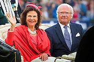 2016/12/07 Duitsland Aken - Deelname aan de opening van het CHIO Aken van koningin Silvia en koning Carl XVI Gustaf van Zweden COPYRIGHT ROBIN UTRECHT 12-7-2016 GERMANY AACHEN - Attendance at the opening of the CHIO Aachen  of Queen Silvia and King Carl XVI Gustaf of Sweden COPYRIGHT ROBIN UTRECHT