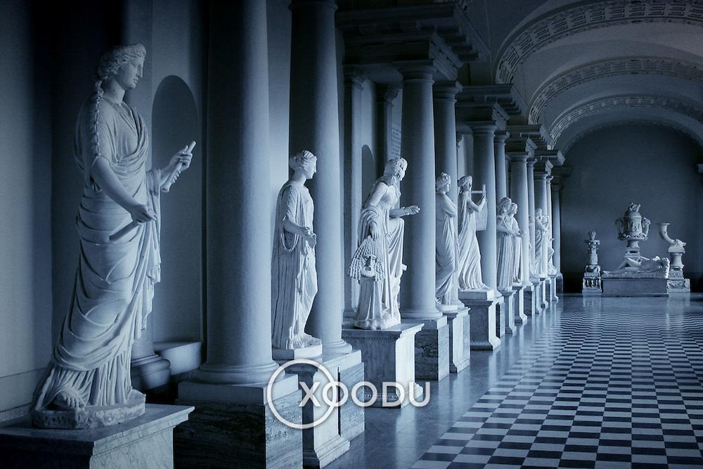 Classical sculptures, Stockholm, Sweden (August 2006)